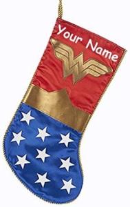 Wonder Woman Personalized Christmas Stocking