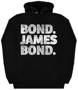 Bond James Bond Hoodie