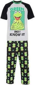 Men's Kermit The Frog Pajamas