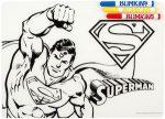 DC Comics Superman Color It Placemat