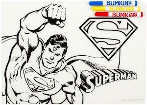 Superman Color It Placemat