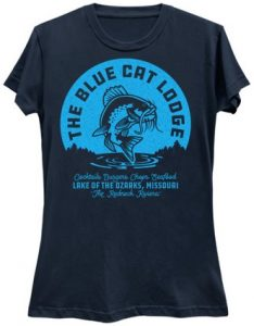 The Blue Cat Lodge T-Shirt