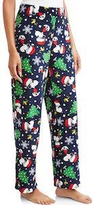Women's Snoopy Pajama Pants