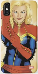 Captain Marvel iPhone Case