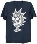 Rick and Morty Drooling Rick T-Shirt