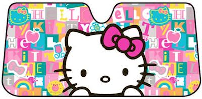 Lots Of Letters Hello Kitty Car Sun Shade