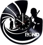 James Bond Record Wall Clock 007