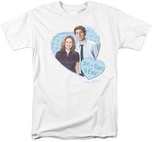 Jim And Pam 4 Ever T-Shirt