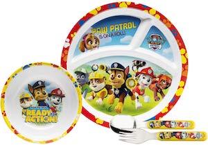 Kids PAW Patrol Dinner Set