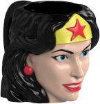 Sculpted Wonder Woman Mug