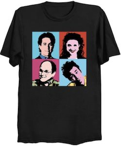 Seinfeld Cast Squares T-Shirt