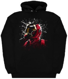 The Face Iron Man Hoodie