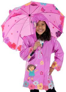 Dora Raincoat And Umbrella