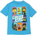 LEGO Movie Never Stop Playing T-Shirt