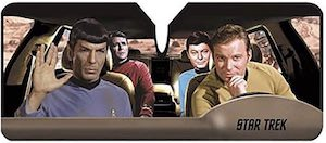 Star Trek Road Trip Car Sun Shade