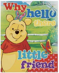 Winnie the Pooh Little Friend Poster