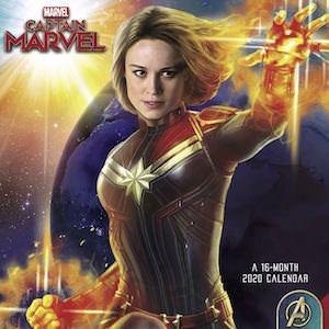 2020 Captain Marvel Wall Calendar