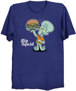 Big Squid The Squidward Burger T-Shirt