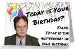 The Office Dwight Birthday Anniversary Card