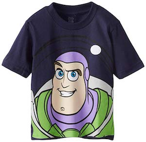 Kids Buzz Lightyear Portrait T-Shirt