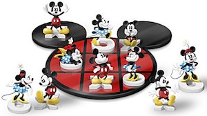 Mickey And Minnie Tic-Tac-Toe