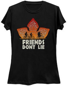 Stranger Things Friends Don't Lie T-Shirt