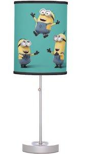 Minions Having Fun Lamp