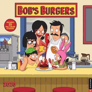 2020 Bob's Burgers Wall Calendar