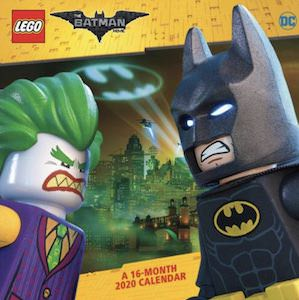 2020 LEGO Batman Wall Calendar