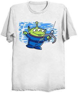 Alien Claw Machine T-Shirt