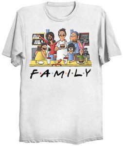 Bob's Burgers Family T-Shirt
