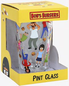 Bob's Burgers Pint Glass