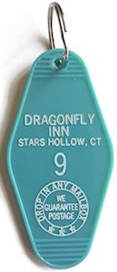 Dragonfly Inn Room Key Chain