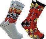 The Simpsons Duff Beer Socks
