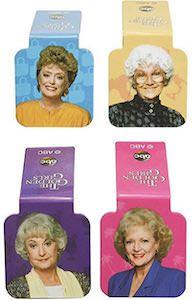 Golden Girls Bookmark Set