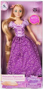 Princess Rapunzel Doll With Ring