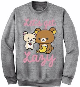 Rilakkuma Let's Get Lazy Sweater