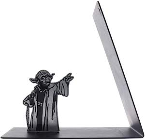 Metal Yoda Bookend