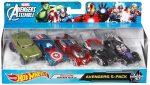 Avengers Hot Wheels 5 Pack