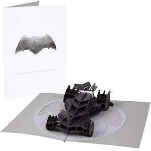 Batman Pop-Up Card With 3D Batmobile