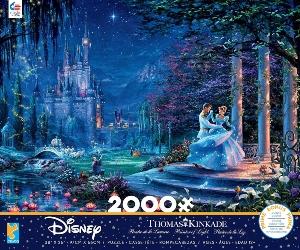 Cinderella Dancing Starlight 2000 Piece Puzzle