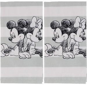 Disney Mickey And Minnie Mouse Tea Towel Set