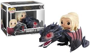 Funko POP Dragon And Daenerys Figurine