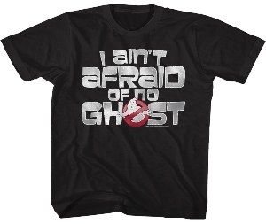 Ghostbusters I Ain't Afraid Of No Ghost Kids T-Shirt