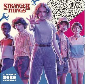 2020 Stranger Things Wall Calendar