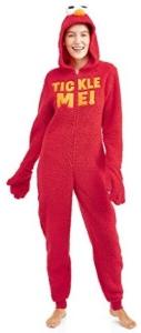 Elmo Sesame Street Tickle Me Onesie Pajama