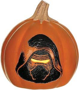 Kylo Ren Halloween Pumpkin
