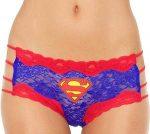 Supergirl or Superman Lace String Panties