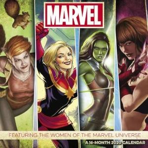 2020 Women Of Marvel Wall Calendar