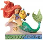 Ariel And Flounder Stone Resin Figurine